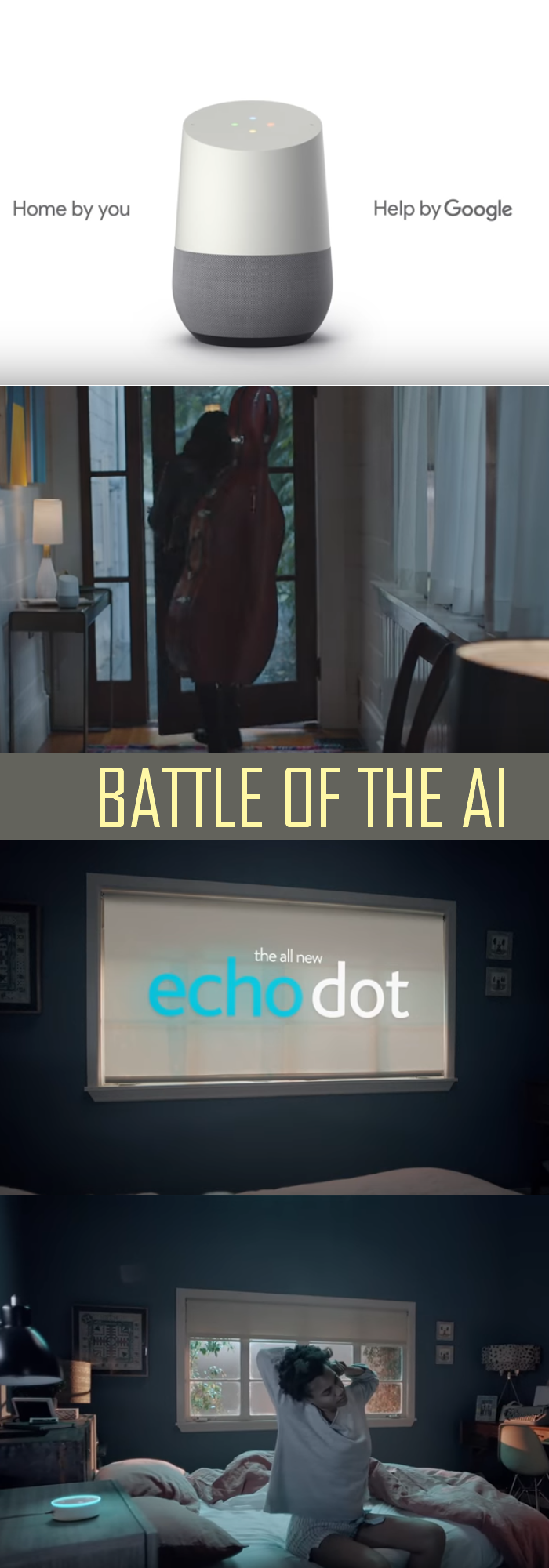 Battle of the AI - Google Home vs Amazon Echo