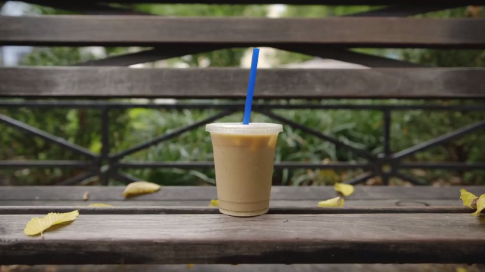 Video: This coffee is feeling a bit emo