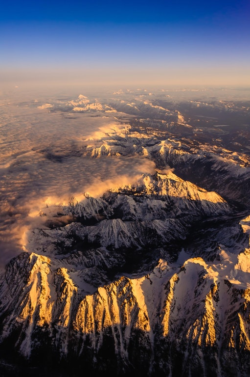 Sunrise Over the Cascades- SA_Tosterud - http://bit.ly/2oFELJh