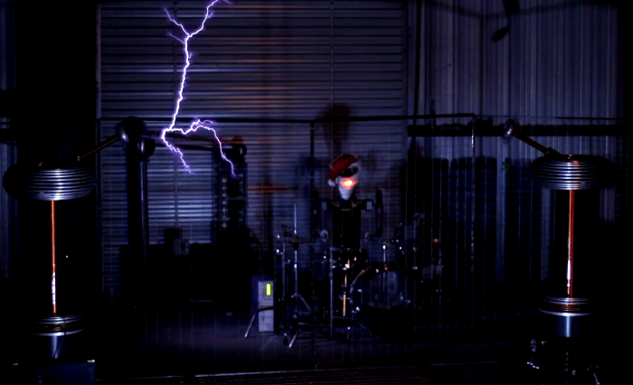 Video: Tesla Coils rock to the beat of Carol of the Bells