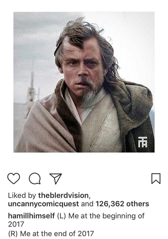Mark Hamill's view on 2017 - Cfuller9 - http://bit.ly/2DIWK4u