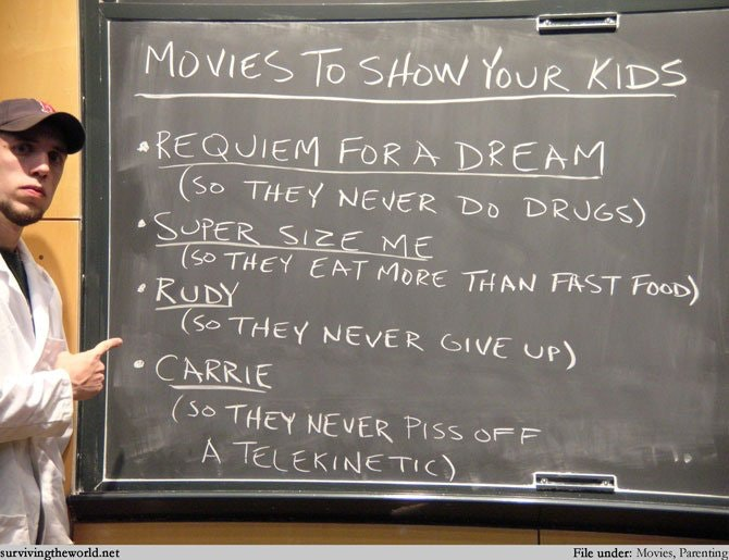 Movies to show your kids (to teach them life lessons) - StoneLemons - http://bit.ly/2lyGe0b