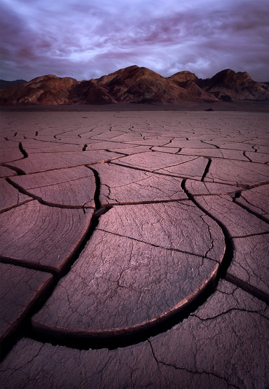 These mud cracks in the Mojave Desert were pretty cool! - ilikefishwaytoomuch - bit.ly2oilgDn