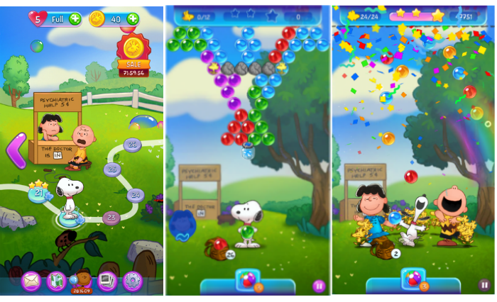 Game Review: Snoopy Pop