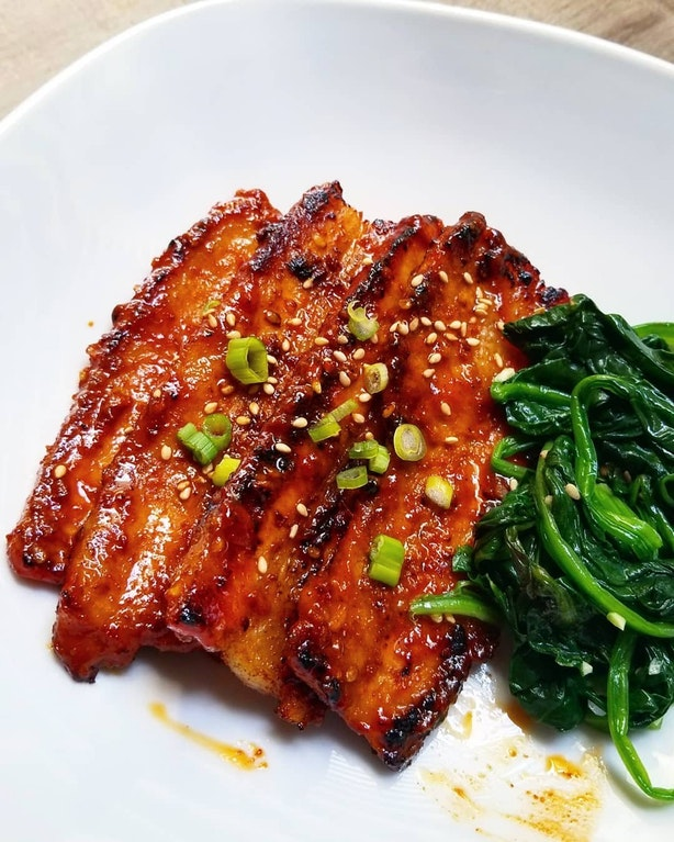 Gochujang Pork Belly - Xaille - bit.ly2JDjgOX