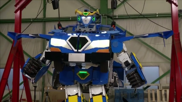 Video: Japan unveils their own version of Transformers