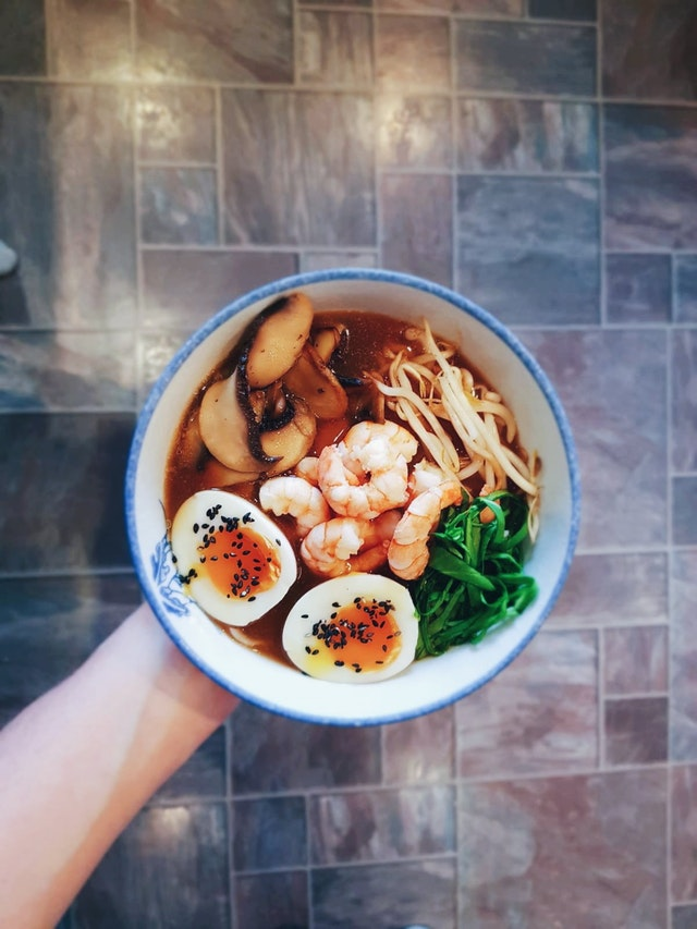 King prawn ramen with rice noodles - OGBish95 - bit.ly2xgrUBI