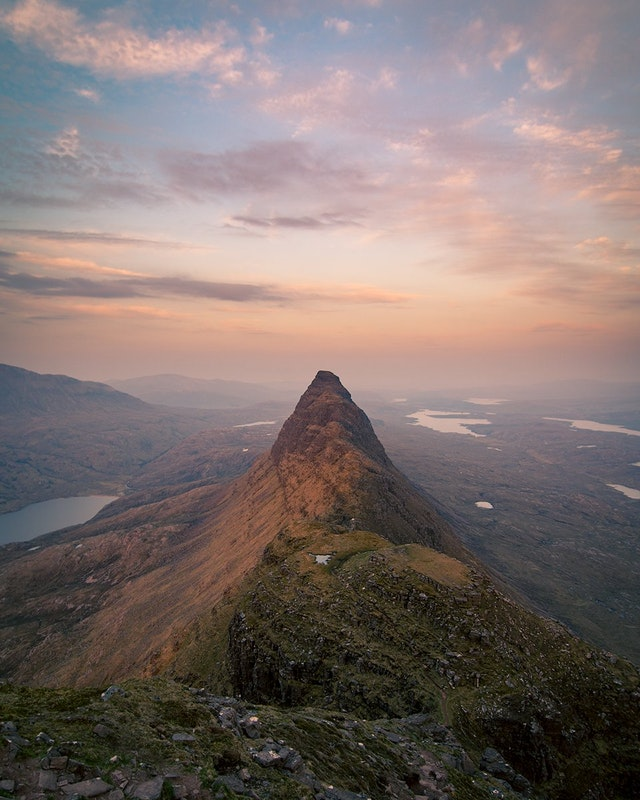 The remote yet stunning Suilven in Assynt, Scotland - Dexxor - bit.ly2L1nC35