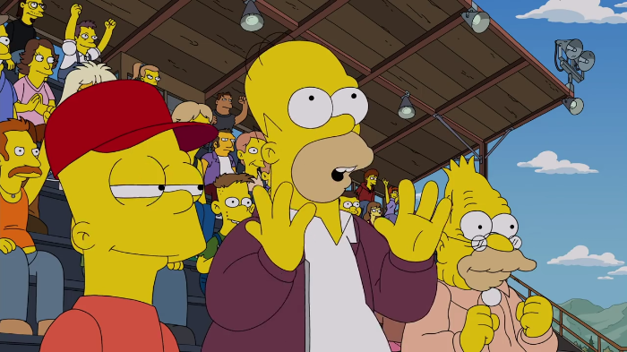 Video: The Simpsons tops with a new award