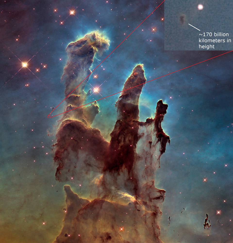 The amazing scale of the Pillars of Creation - TopalthePilot - bit.ly2tq2UDY