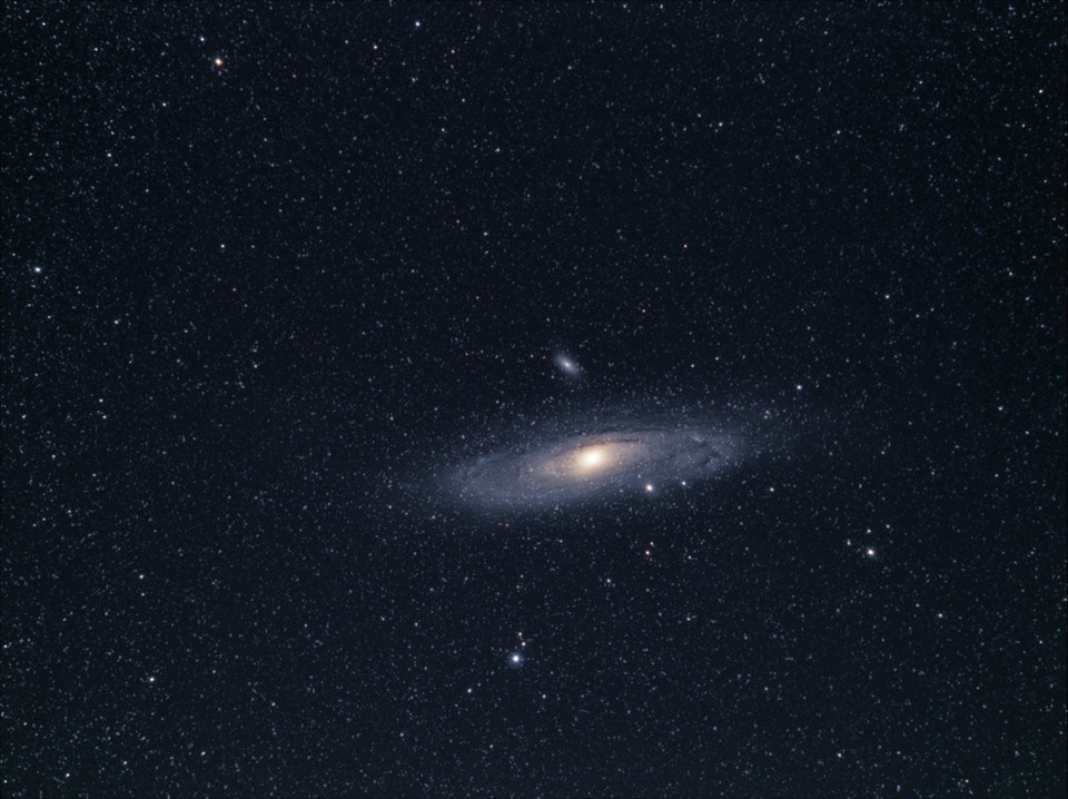 First Image of the Andromeda Galaxy - Chris9712 - bit.ly2NDdOO3