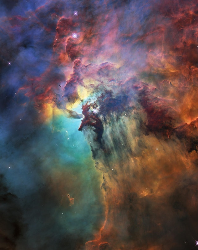 Hubble's 28th birthday picture of the Lagoon Nebula - CurtisLeow - bit.ly2MIPwC5