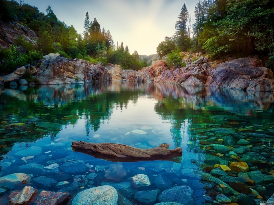 My Top Secret Summer Swimming Hole, Sierra Nevadas, California - rodgers929 - bit.ly2KIZ9nI