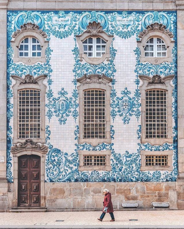 The most beautiful facade, city of Porto, Portugal - earthmoonsun - bit.ly2NsDlNL