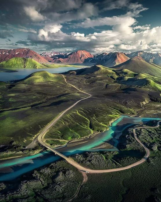 Valley of wonders in Iceland