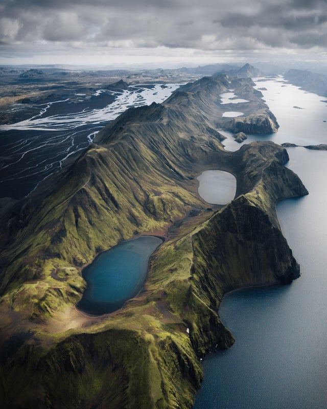 Glacial rivers and lakes, Iceland
