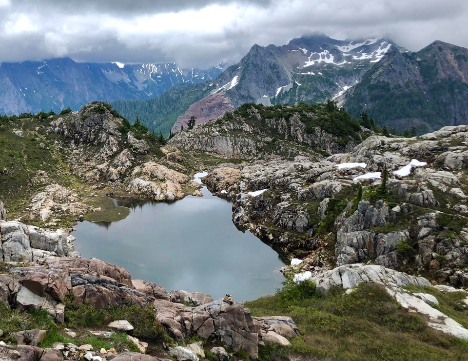 High in the North Cascades of Washington