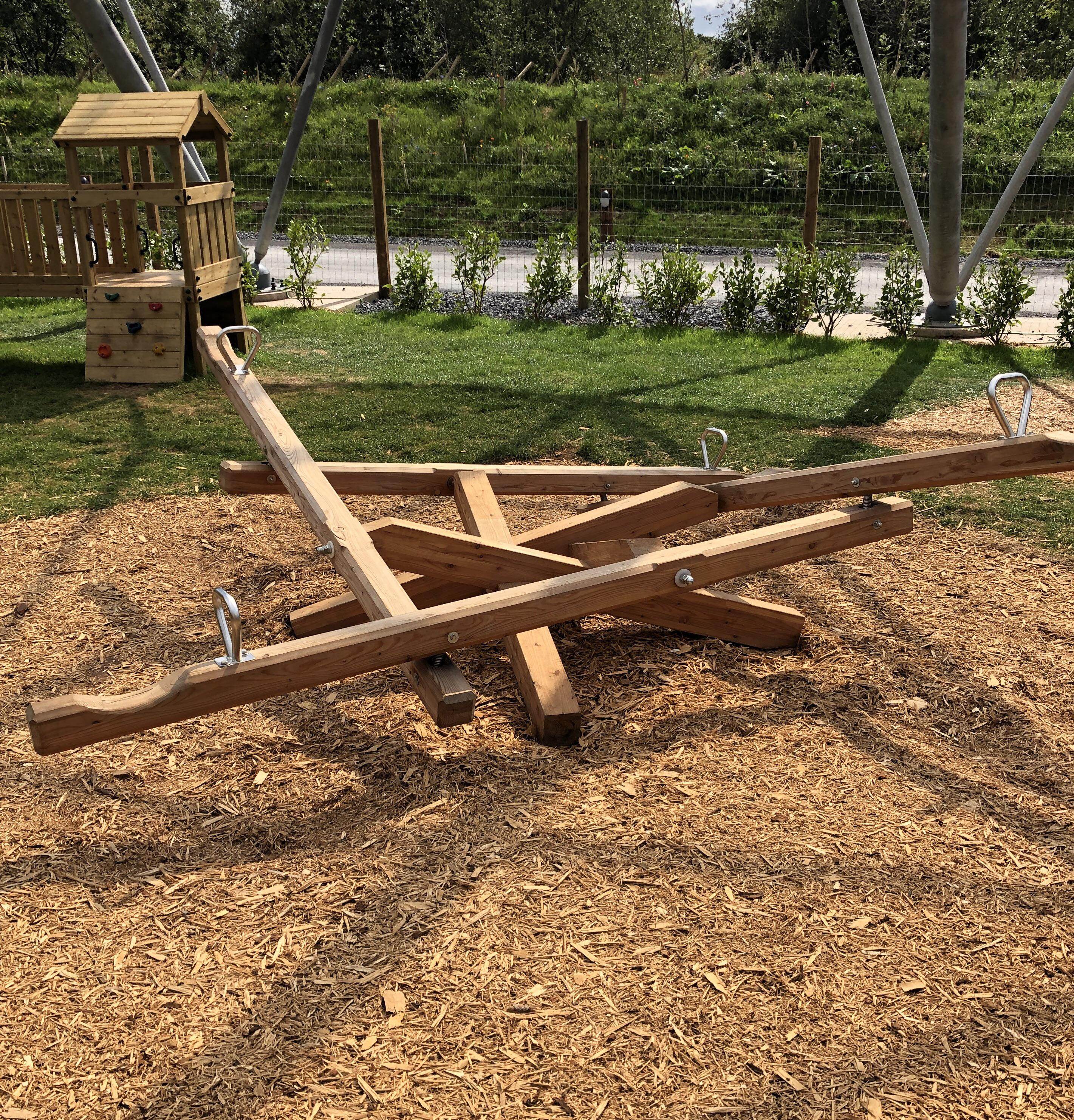 A seesaw for four