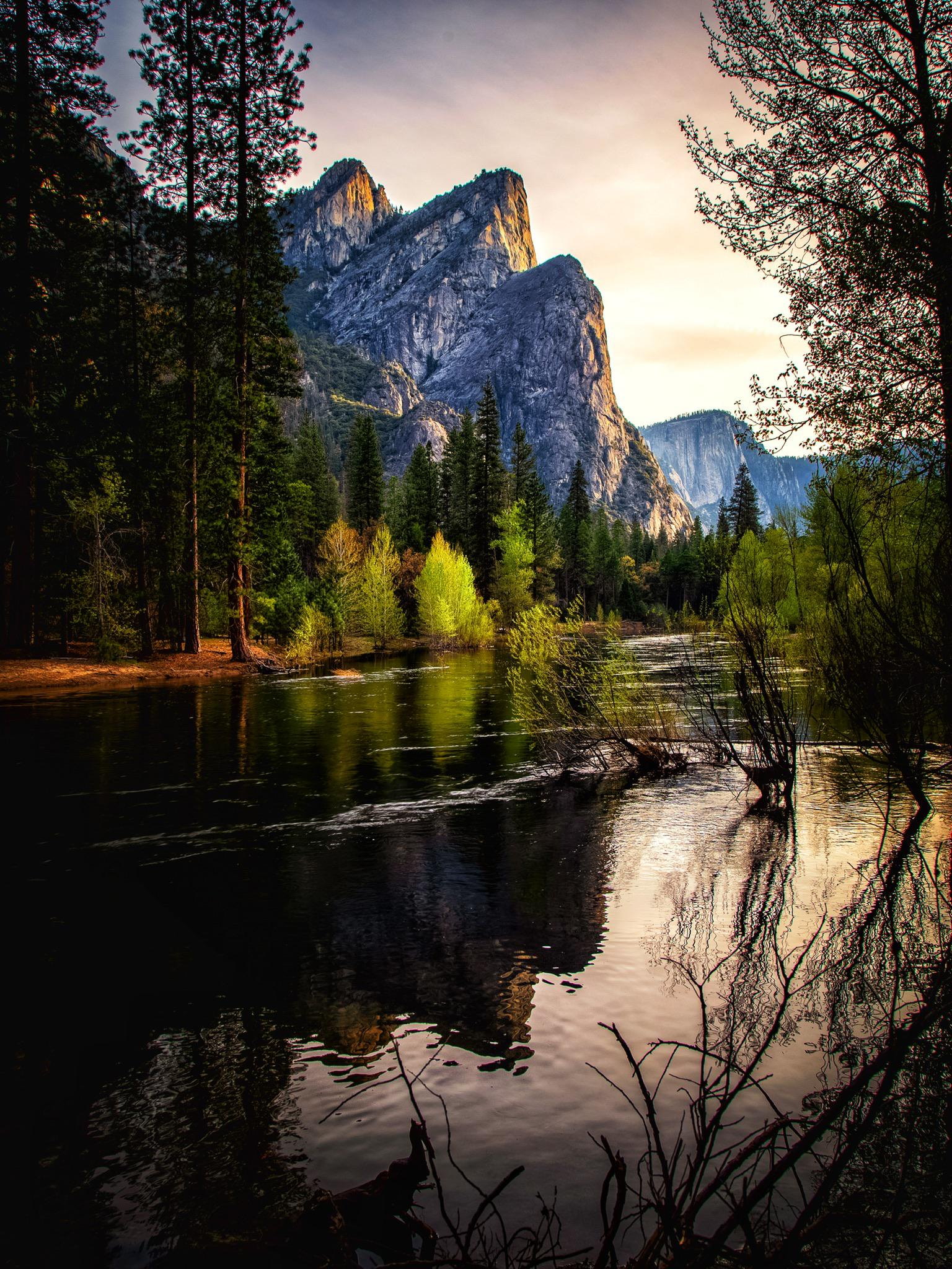 Picture perfect, three brothers, Yosemite National Park