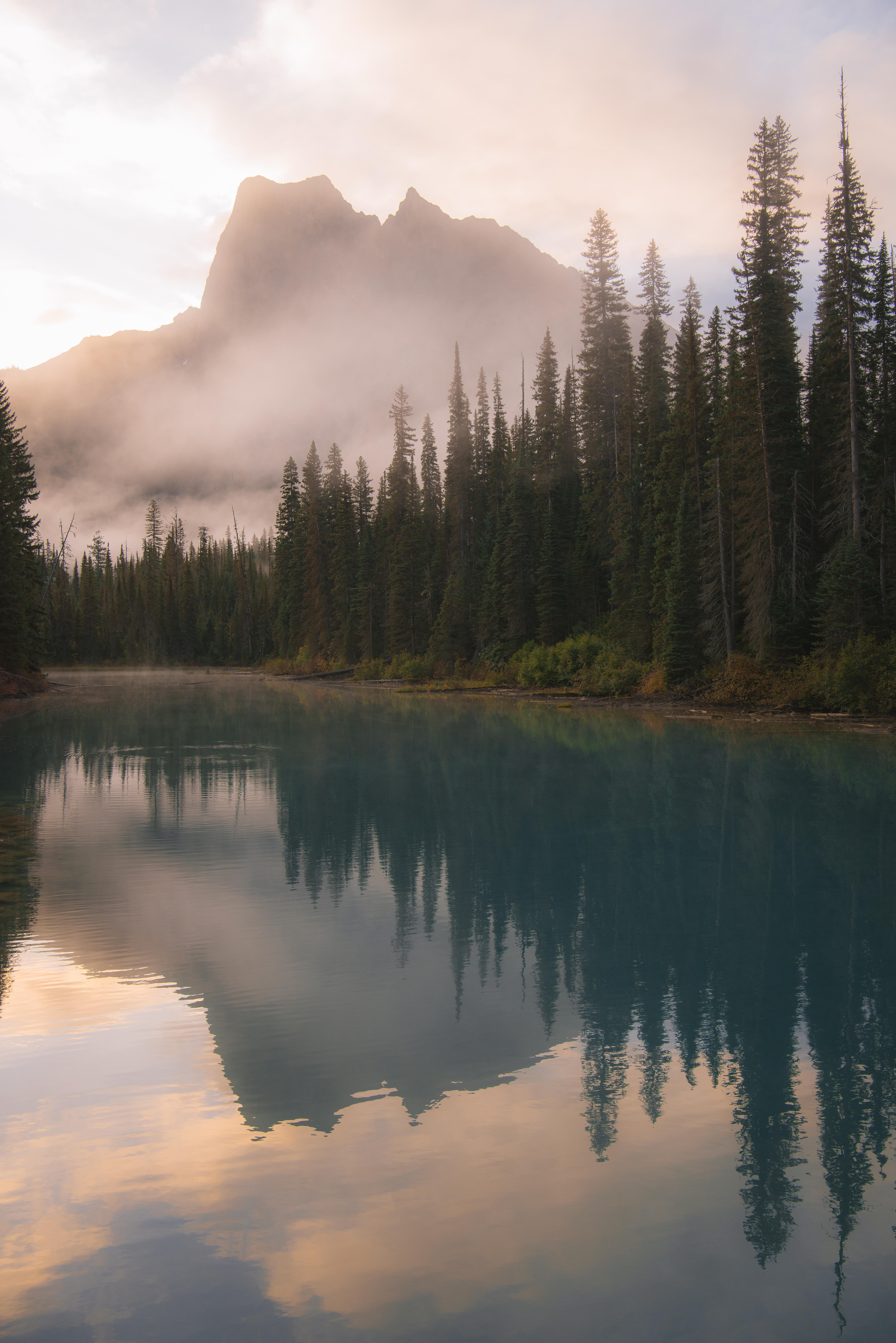 Colorful Reflections in Yoho National Park, BC