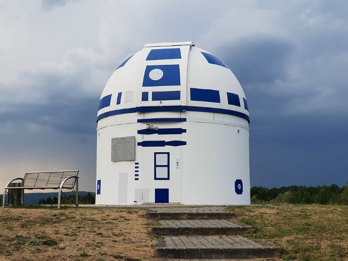 The Zweibrück Observatory in Germany is styled after