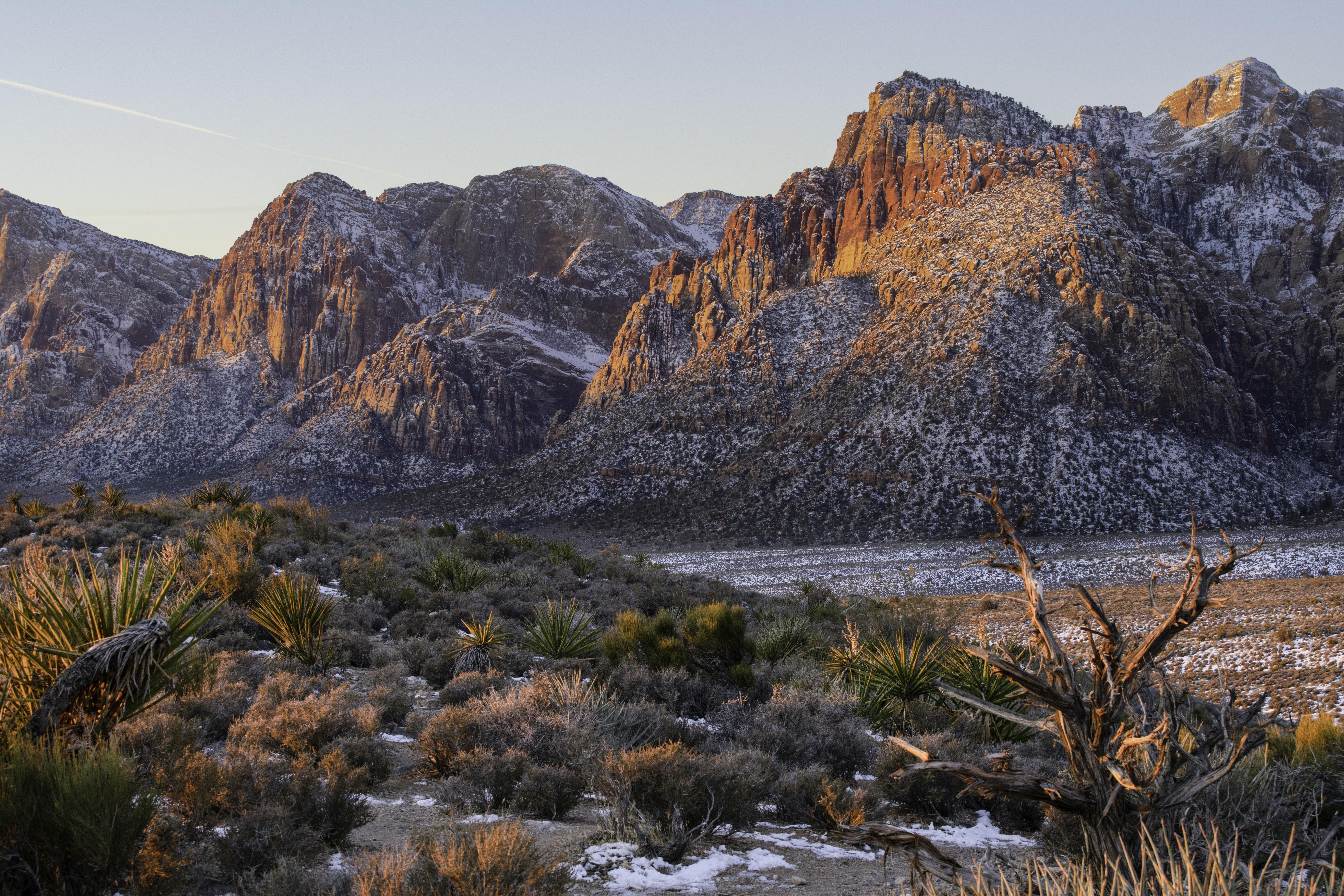 Red Rock National Conservation Area outside of Las Vegas